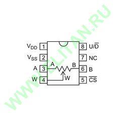 MCP4011-503E/SN ���� 1
