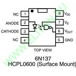 HCPL-0630-000E фото 1